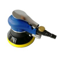 5 ou 6 pouces voiture air ponceuse vide broyeur pneumatique dérouillage mécanique de l'outil de ponçage de bois auto ponçage polissage de meulage