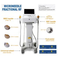 Microneedle machine Skin Tightening beauty equipment fractional rf ance removal fractional microneedle for eyes face body wrinkle removal