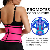 Suporte Slimming Sweat Belly Belt Corpo Shaper Mulheres Corpo Shaper Slimming Belt cintura instrutor cintura compressão Brace