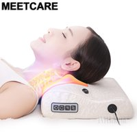 Massagem Relaxante Pillow carro e casa massageador elétrico Shoulder Neck Infrared Aquecimento Massagem de Relaxamento Corpo Massageador