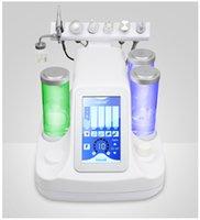 6 1 Hydra Dermabrazyon Aqua Peel Temiz Cilt Bakımı BIO Işık rf vakum Yüz Temizleme Hidro Su Oksijen Jet Peel Güzellik Machine