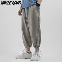 SingleRoad Mens Harem Pants Joggers Men 2020 Khaki Solid Pan...