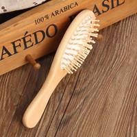 Saúde massagem Lotus Comb Prevent Knot Combs Household Barber Shop escova de cabelo Anti estáticos Suave Tools Air Bag 3 35hs B2
