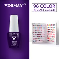 VINIMAY 96 gel di colore Smalto Gel Gelpolish Varnis Gellak Vernice Primer Set impregna fuori Opies chiodo UV polacco Art Salon 15ML