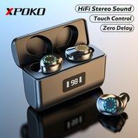 Casque sans fil avec écouteur Bluetooth sans fil Mic sans fil 3000mah Cas de charge Écouteurs 9D STEREO SON SON SON SPORT Casque imperméable