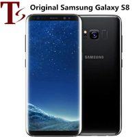 الأصلي سامسونج غالاكسي S8 تم تجديد الهاتف الذكي G950F G950U 5.8 بوصة Octa Core 4GB RAM 64GB ROM 12MP 4G LTE Mobielephone