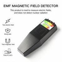 K2 elektromagnetische Felder EMF Gauss Meter Geist-Jagd-Detektor Tragbare EMF Magnetfelddetektor 5 LED Gauss Meter E84a #