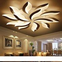 Tasarım Akrilik Modern LED Tavan Işıkları Oturma Odası Yatak Odası Lampe Plafond Avize Kapalı Tavan Lambası