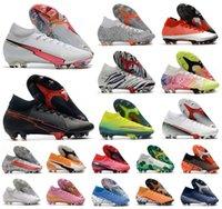 Superfly VII 7 360 النخبة SE FG Flash Crimson CR7 رونالدو نيمار NJR رجل بنين كرة القدم أحذية كرة القدم أحذية المرابط حجم 39-45