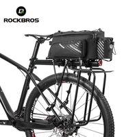Saco de bicicleta ROCKBROS Trunk Bag Pannier Nylon Bike Cycling MTB Outdoor rack traseiro Tronco sacola Cesta acessórios de bicicletas MX200717