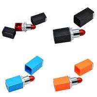 Rossetto metallo a forma di pipe Lips creativa mano di tubi multipli di filtrazione del labbro il supporto di sigaretta di fumo Accessori portatile 4 2GL B2