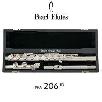 Populares perla Flauta PFA-206 ES 16 instrumento cerrado Agujero G Tune plateada astilla Profesional musical con el envío libre de caso