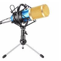 Bm800 Professional Podcast Suspension filaire studio en direct Microphone Kit de flux de diffusion d'enregistrement Microphone à condensateur Set Karaoke