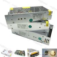 Uscita del driver dell'interruttore del trasformatore di illuminazione DC12V 24V 120W 360W 500W 110-240V Accessori in alluminio per strisce LED Luci Moduli DHL