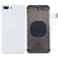 Meilleure qualité pour iPhone 8 8plus x xR xs xs châssis de cadre moyen du boîtier de boîtier de boîtier complet de boîtier de la batterie porte de couverture de batterie