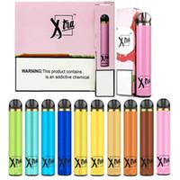 Dispositif de stylo de vapon jetable de XTRA 1500 Puffs 1500 bouffées pré-remplies de cartouches de démarrage de cartouches de démarreur de cartouches de cartouches Puff XTRA