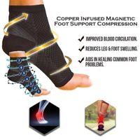 Support de cheville Sports de sport Foot anti-fatigue manchon de compression Badminton Basketball Football Taekwondo Fitness Heel Protector