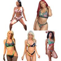 Ethika Boxers Kadınlar Beachwear Bikini Kadınlar 2 Parça Ethika Set Yelek Tank Sütyen Mayo Plaj Tatşalı Ekose Yüzme Suits Tankinis DHL L1675