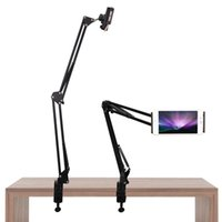 360 ajustable soporte para teléfono móvil metal universal Lazy soporte de la tableta Soporte flexible para iPhone Mini / iPad
