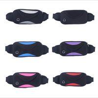 Sport étanche taille Poches Etui ceinture universel pour iPhone 8 X 7 plus Sacs course fonctionnel pour Samsung avec le sac échantillon
