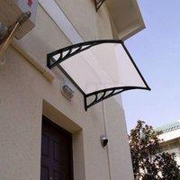 Porta janela mobiliário capa beiral dossel sol proteção conveniente para pátios EUA estoque morden holder