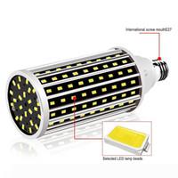 Faible consommation E27Indoor Accueil Décoration Éclairage ventilateur de refroidissement LED 50W Ampoule de maïs à haute luminosité, rue Spotlight MS011