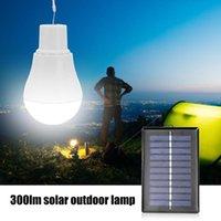 5V 15W 300LM الطاقة الشمسية الطاقة في الهواء الطلق مصباح المحمولة USB شحن استهلاك أضواء منخفضة الطاقة لمبة LED حياة طويلة