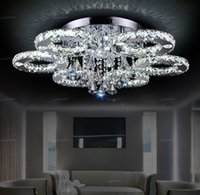 Luxury Modern Led Crystal Ceiling Light Crystal Chandeliers 1 3 5 6 7 8 Heads Clear Amber Crystal for Foyer Living Room Bedroom