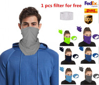 US STOCK, Cycling Unisex Magic Head Face Protective Mask Neck Gaiter Biker's Tube Bandana Scarf Wristband Beanie Cap Outdoor Sports FY6087