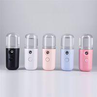 Mini Nano Mist Распылитель для лица Пьеса Небулайзер Паровая Увлажняющая Уход за кожей Инструменты для ухода за кожей 30 мл Лицевые Спрей Beauty Instruments