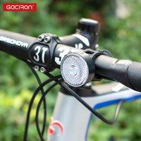 Gaciron 20LM الذكية تحذير الدراجة الأمامي / الخلفي ضوء القابلة لإعادة الشحن دراجات الضوء / الكاشف ركوب الخيل ماء مصباح تشغيل الآمن