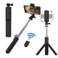 Trépied Selfie Télécommande Bluetooth Télécommande détachable Trépied Extensible Horizontal Vertical Shoot S03 Mobile Selfie Stick