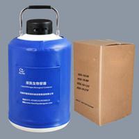 Cilindro di gas di azoto liquido 10 litri canister portatile contenitore criogenico di stoccaggio dewar flask serbatoio di trasporto 10L TIANCHI produttore