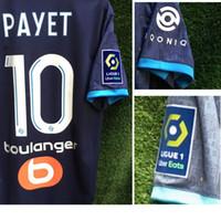 2020 OM Payet Maillot Benedetto Thauvin Rongier Alvaro Mandanda com patrocinador completo Futebol Badge