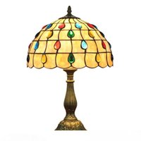 European bar restaurant bead lamp table lamp bedroom bedside...