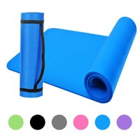 10mm Thick Yoga Mat Non- Slip Exercise Mat Pad with Carrying ...