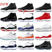 nike air jordan 11 Space 72-10 Cap and Gown Concord High 45 Gym Red Space Jam Jam Scarpe da pallacanestro Uomo Donna Scarpe uomo Sneakers sportive Sneakers