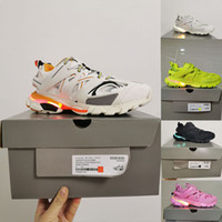 Chaussures Triple-S LED WHITE 3M TRIPLE S TRACK S TRACK 3.0 Shoes de course 3 Tess Gomma Maille Chaussures Jogging Sport Sneaker Taille 36-45