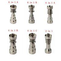 Titan-Nagel 10mm14mm19mm Joint 2 IN 1 4 1 6 in 1 Domeless Titan-Nagel für Mann und Frau