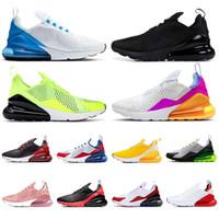 zapatos stock X tenis nike air max 270 airmax 270s Zapatillas de running originales para hombre 2020 de CALIDAD SUPERIOR Zapatillas de deporte de diseñador Triple CACTUS Barey Rose