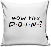 BAKKAL nasılsın Vücut Yastık Yastık Standart 18inch × 18inch = 45cm x 45cmSquare Yastık Dekorasyon çözmez