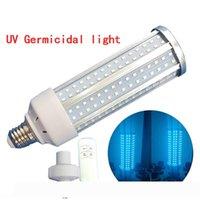 60W UV Germicidal Lamp E27 Led UV Light Bulb Disinfection Lamp LED Lights Home Clean Air Kill Bacteria Mites