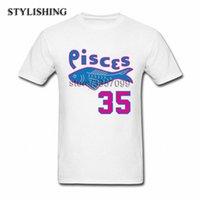 Sıcak Satış Erkekler Boy Balık lVsm # için Erkekler Tshirt Popüler Yuvarlak Yaka Pamuk Kısa T Shirt