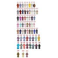 63 Styles Neoprene Chapstick Holder Keychain Pouch Lipstick Holder Softball Football Pattern Printing Chapstick Holders Party Favor CYZ2575