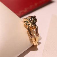 Продажа леопардового кольца с Gutta Percha Domineering Trend Личности Механический леопард нейтральный кольцевой уличный стиль короля фан Интернет бесплатный корабль