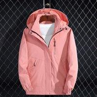 Casual Waterproof Jacket Windbreaker Jacket con cappuccio staccabile Cappello invernale Donne Escursionismo Outdoor sport cappotto di pioggia Corta Vento