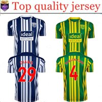 new 20 21 West Bromwich Albion home soccer jerseys 2020 2021...