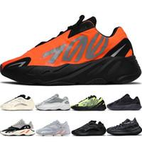 venda quente 380 700 tênis preto Analog MNVN Laço alaranjado do Dia Triplo Black Gum Inércia Hospital azul Geode ímã sneakers