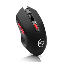 Authentische YWYT Professionelle 2400 DPI Gaming Mouse 6 Tasten LED Optical Wireless Gaming Mäuse Gaming Computer-Maus für Pro PC Gamer Maus