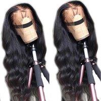 LS hair Lace frontal Human Hair Wigs Brazilian Body Wave Lace Wig Remy Human Hair Lace Wigs